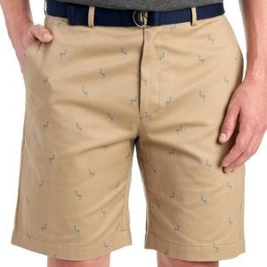 Savane Men's Twill Flamingo Short